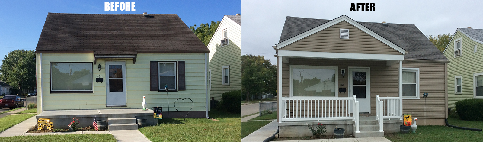 Home Improvement Before & After